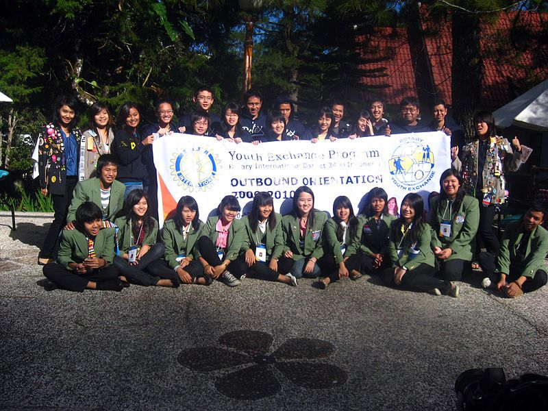 Indonesian_Rotary_Youth_exchange_students